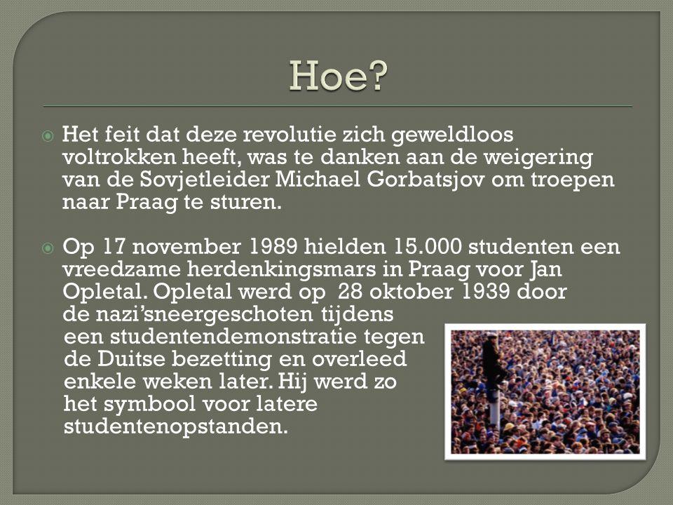  Er volgden nog meerdere opstanden, onder andere op 20 nov 1989.