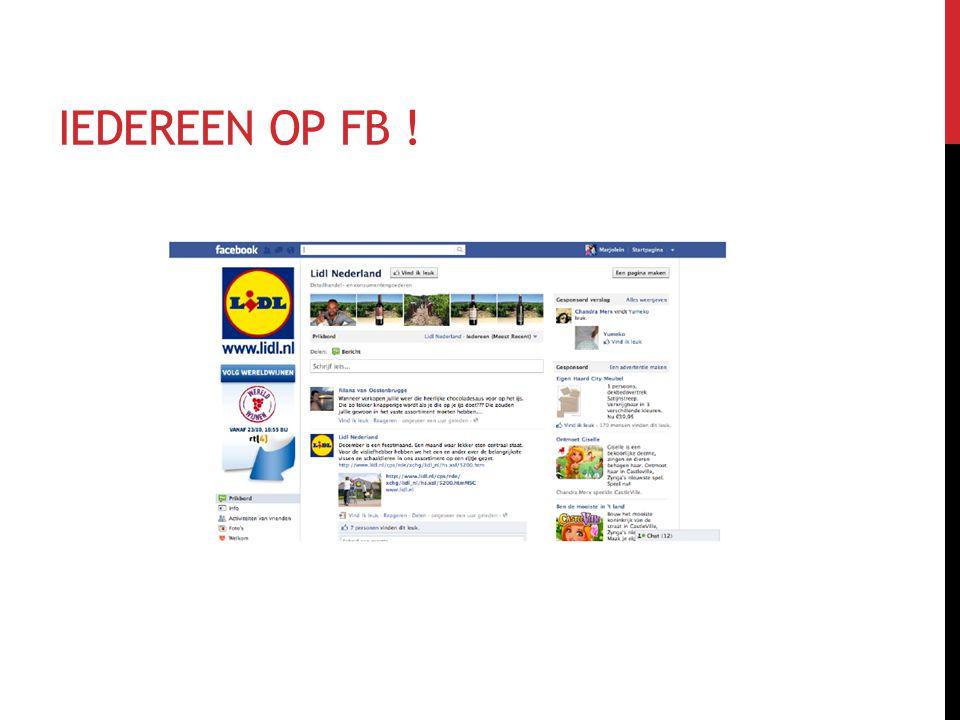 IEDEREEN OP FB !