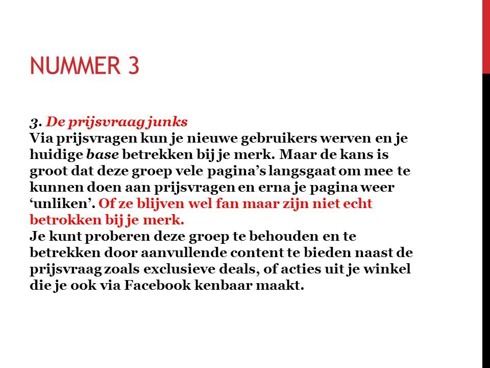 NUMMER 3 3.