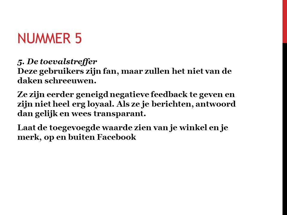 NUMMER 5 5.