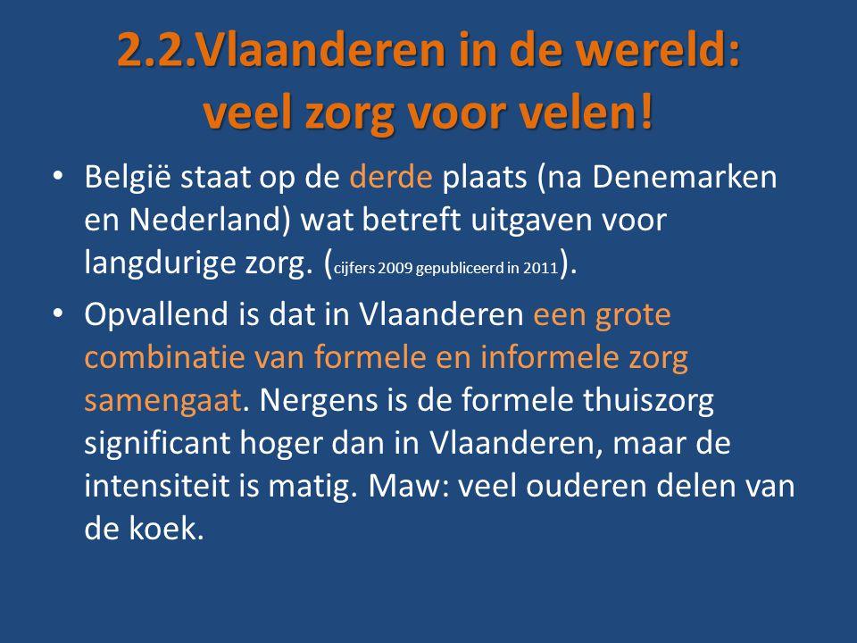 2.2.Vlaanderen in de wereld: veel zorg voor velen.