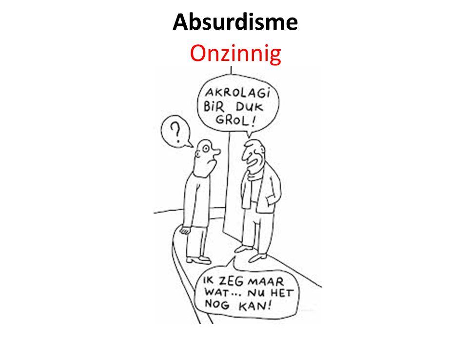 Absurdisme Onzinnig