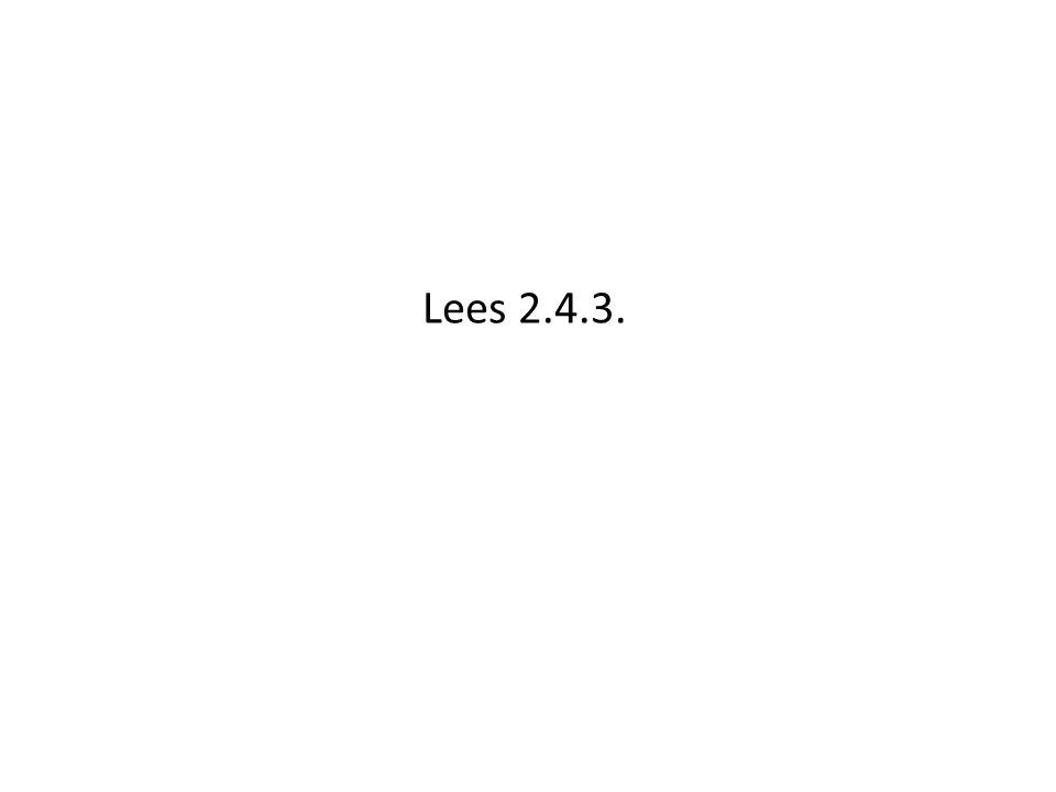Lees 2.4.3.