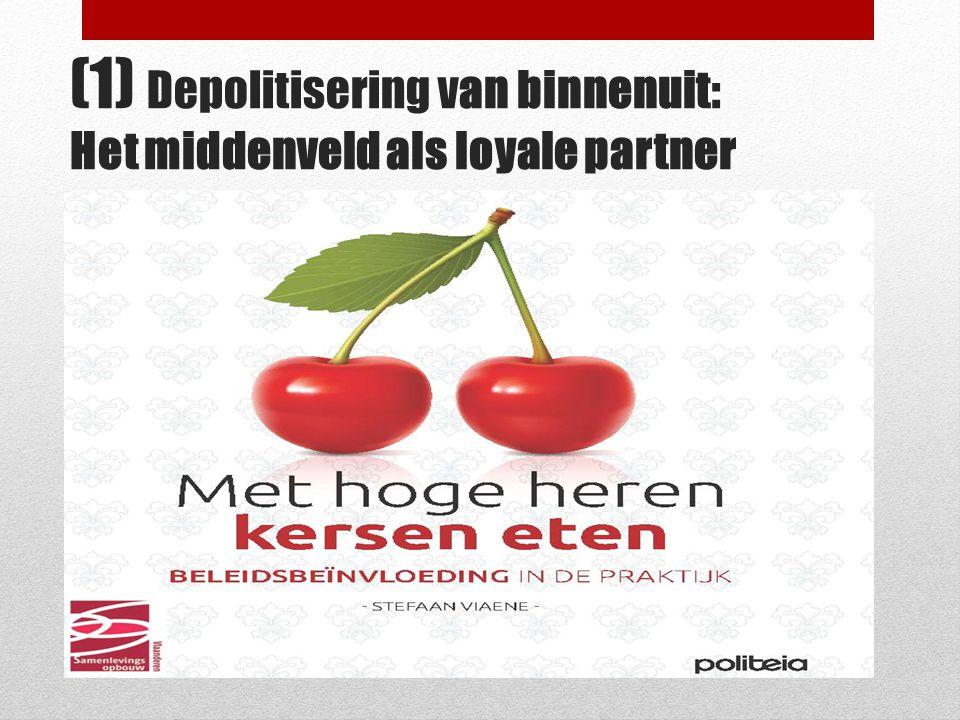 (1) Depolitisering van binnenuit: Het middenveld als loyale partner