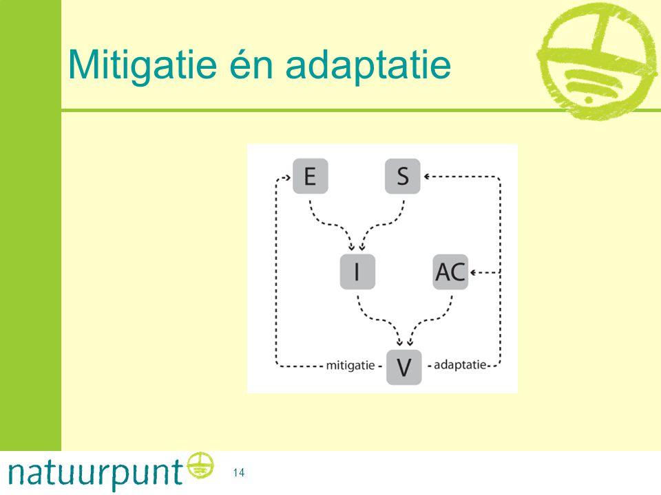 Mitigatie én adaptatie 14