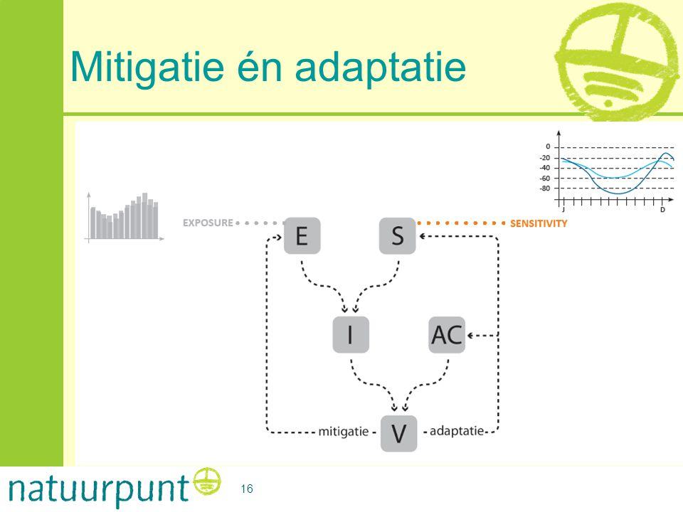 Mitigatie én adaptatie 16