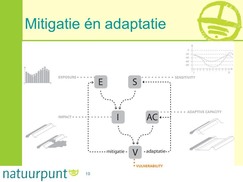 Mitigatie én adaptatie 19