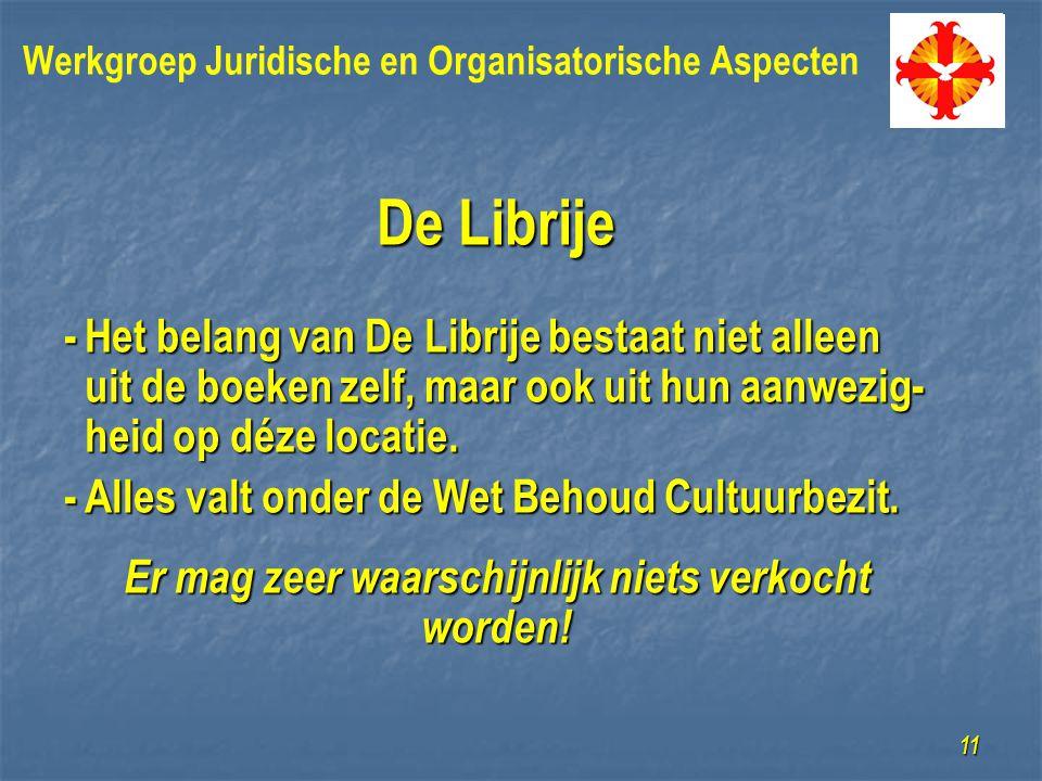 De Librije -Het belang van De Librije bestaat niet alleen uit de boeken zelf, maar ook uit hun aanwezig- heid op déze locatie.