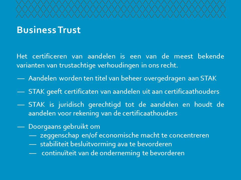 Protected Trust Cell Company Waarom maakt de Lvo Trust het mogelijk een PCC op te richten.