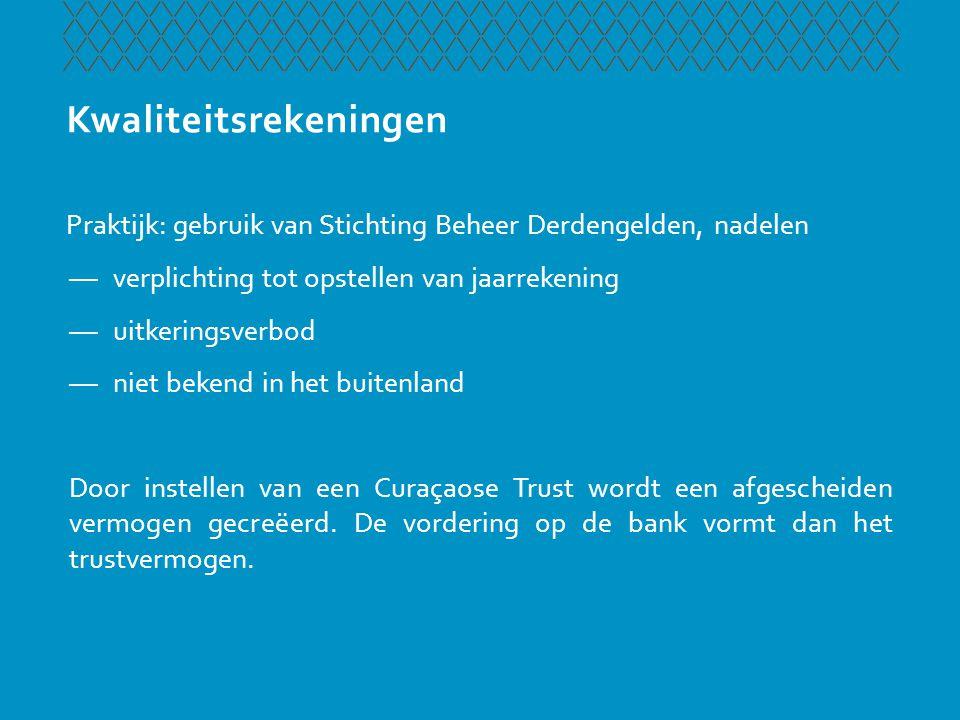 Beleggingstrust Wetgever heeft op diverse plaatsen rekening gehouden met wens dat de trust gebruikt zou moeten kunnen worden als beleggingstrust —Art.