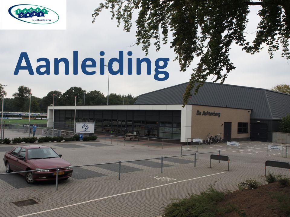 Hoe: Subsidie Sportimpuls Luttenberg, vitaal sportdorp Ondersteund door: De Parel gezondheidscentrum Sportclub Luttenberg Basisschool Esmoreit Zwembad 't Siel Gemeente Raalte Sportservice Overijssel