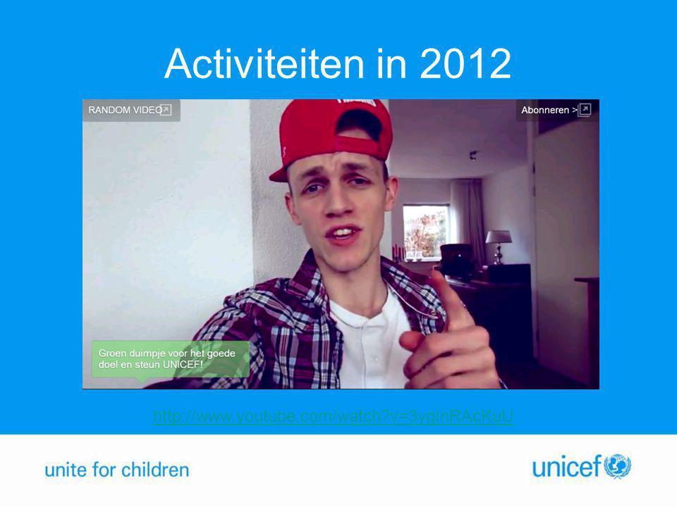 Activiteiten in 2012 http://www.youtube.com/watch?v=3ygInRAcKuU