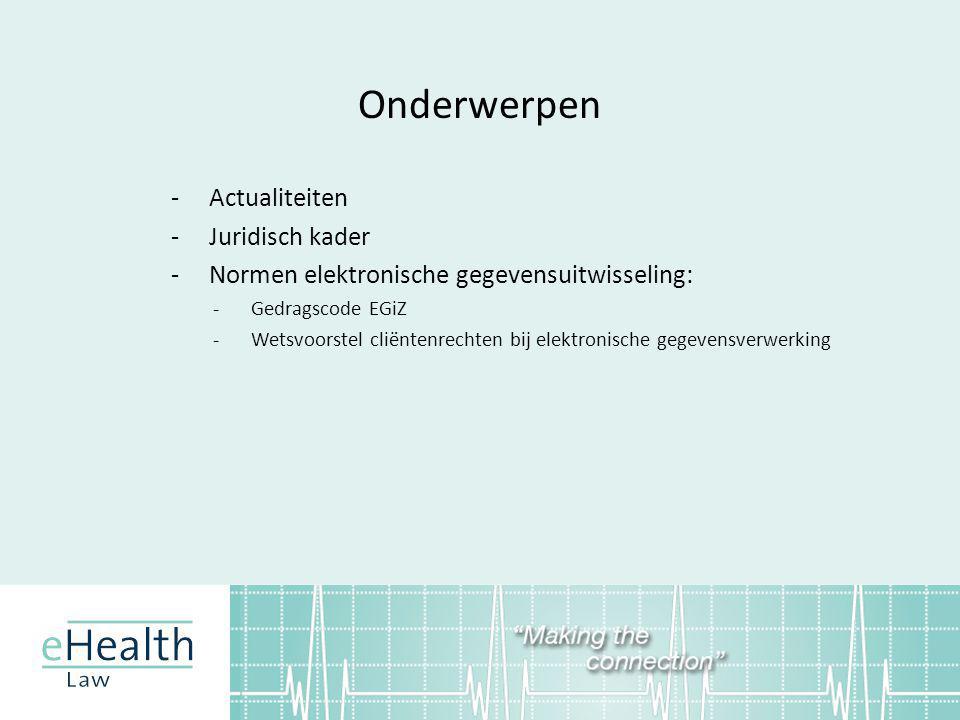 Vragen? Anton Ekker ekker@ehealth-law.nl www.ehealth-law.nl 06-43775335