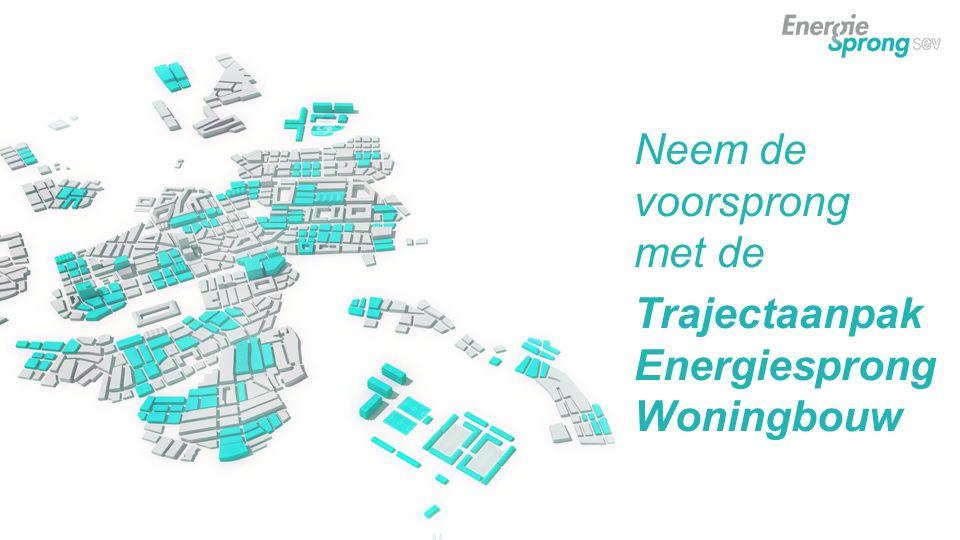 Neem de voorsprong met de Trajectaanpak Energiesprong Woningbouw