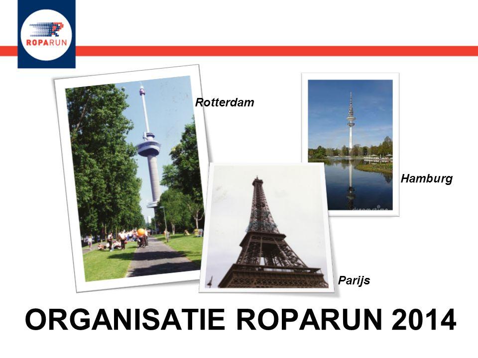 ORGANISATIE ROPARUN 2014 Hamburg Parijs Rotterdam