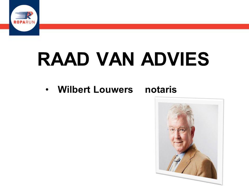 RAAD VAN ADVIES •Wilbert Louwers notaris