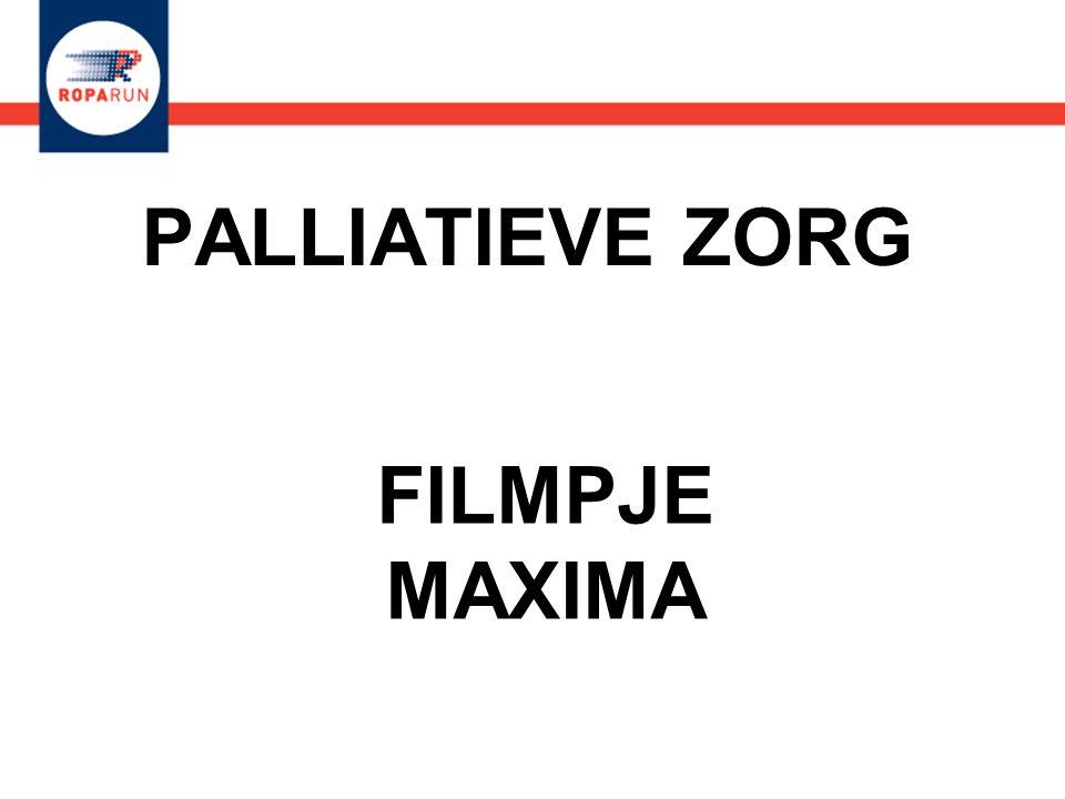 PALLIATIEVE ZORG FILMPJE MAXIMA FILMPJE MAXIMA
