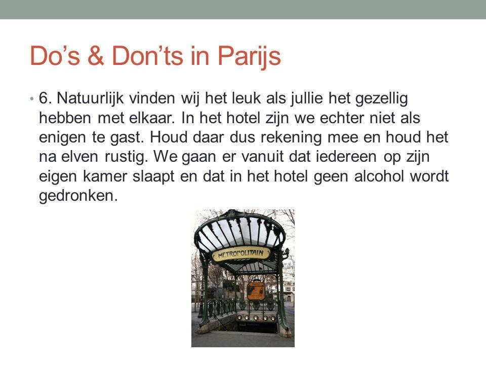 Alcohol & drugs • Tijdens onze studiereis zullen wij ons houden aan de Nederlandse wet; dit betekent dat leerlingen niet in het bezit mogen zijn van alcohol en dit ook niet mogen consumeren.