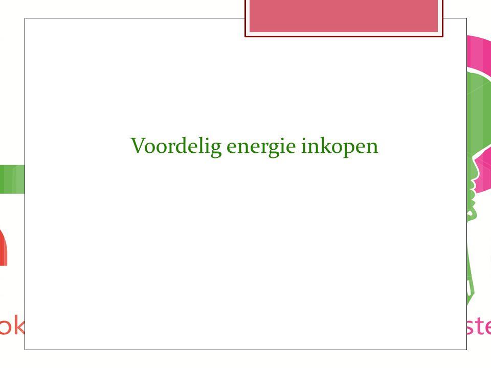 Voordelig energie inkopen