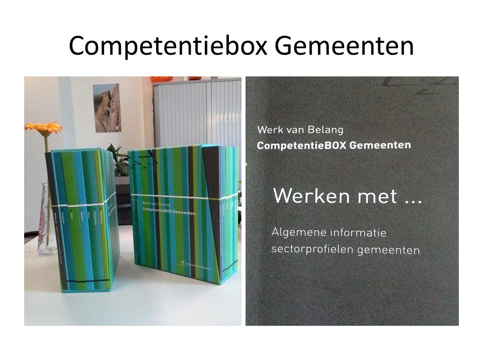 Competentiebox Gemeenten
