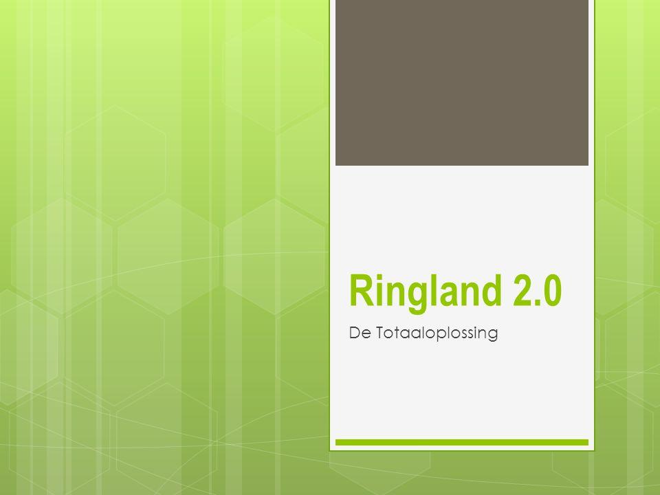 Ringland is prachtig id  Extra (groene) ruimte door overkapping – nodig om 100.000 bewoners tegen 2030 te verwelkomen  Doorsneden stadsdistricten terug verbonden  Extra capaciteit en veiligheid op zuidelijke ring door scheiding doorgaand en bestemmingsverkeer (ontweving)  Geluidssanering en minder vervuiling langs bestaande ring