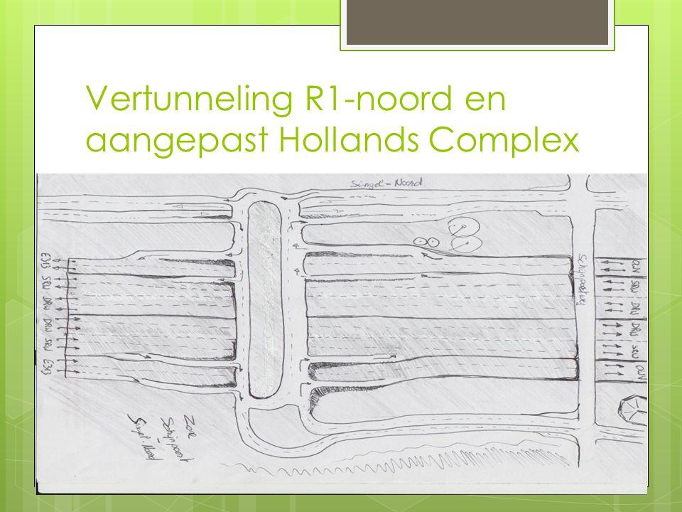 Vertunneling R1-noord en aangepast Hollands Complex