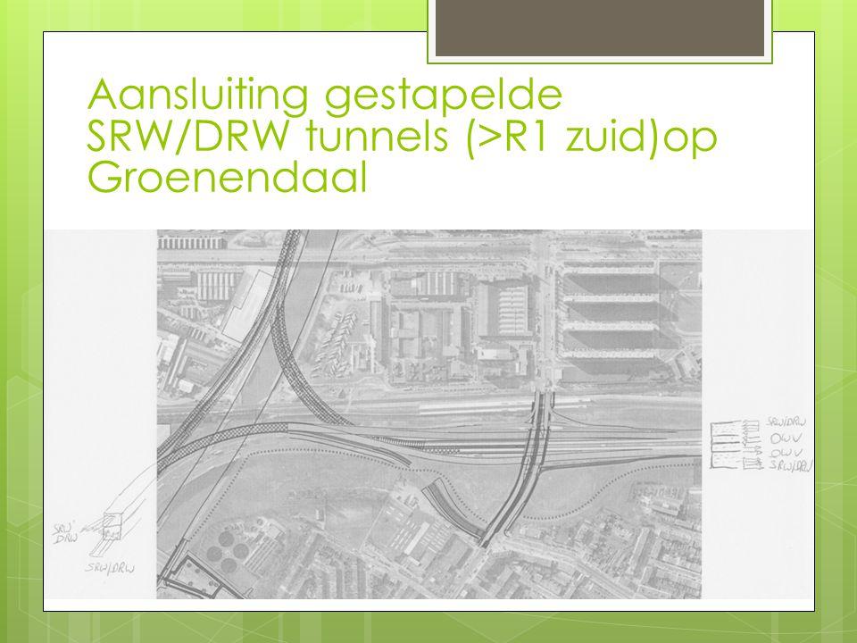 Aansluiting gestapelde SRW/DRW tunnels (>R1 zuid)op Groenendaal