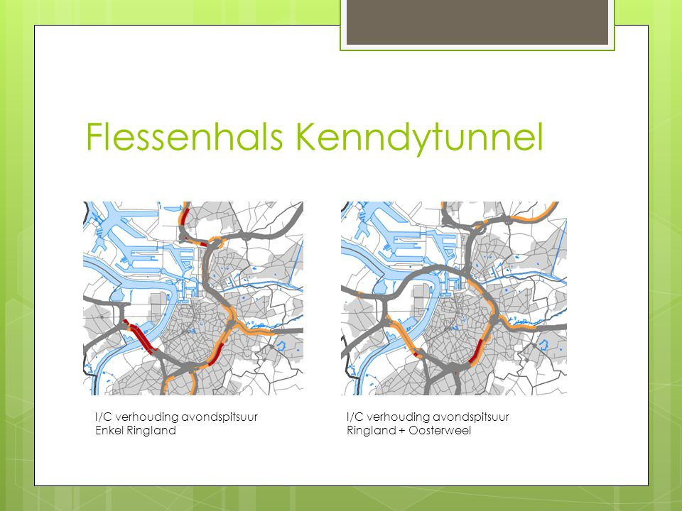 Ringland 2.0= Ringland + OWV +ingetunnelde knoop en E313  Met verdere ontweving :  Doordat A102 reeds relatie Wommelgem-Merksem realiseert, moeten E313 tunnels niet langer aansluiten op Albertkanaaltunnels en moeten ze enkel met Oosterweeltunnels en de DRW-Ringlandtunnels van de R1 Zuid worden verbonden  R1 zuid wordt enkel verbonden met de Albertkanaaltunnels  Met sterk vereenvoudigde knoop Antwerpen-Oost waarbij op- en afrit naar Turnhoutsebaan wordt geschrapt (functie wordt overgenomen door Hollands Complex en op/afrit Plantin-Moretus)  Met Singel die ten noorden van Plantin-Moretus gebundeld blijft met de berm van het ringspoor en geen extra barrière vormt midden de overkapte groene ruimte  Met het knooppunt Antwerpen-Oost dat volledig onder de grond gaat en Ringpark Antwerpen-Oost met Park Spoor Oost en met Rivierenhof verbindt  Met een nieuwe Scheldekruising die voor alternatieve route zorgt bij aanleg Ringlandtunnels: situatie moet niet eerst slechter worden voor ze beter wordt