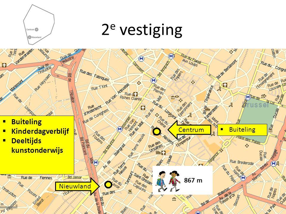Centrum Nieuwland  Buiteling  Kinderdagverblijf  Deeltijds kunstonderwijs 867 m