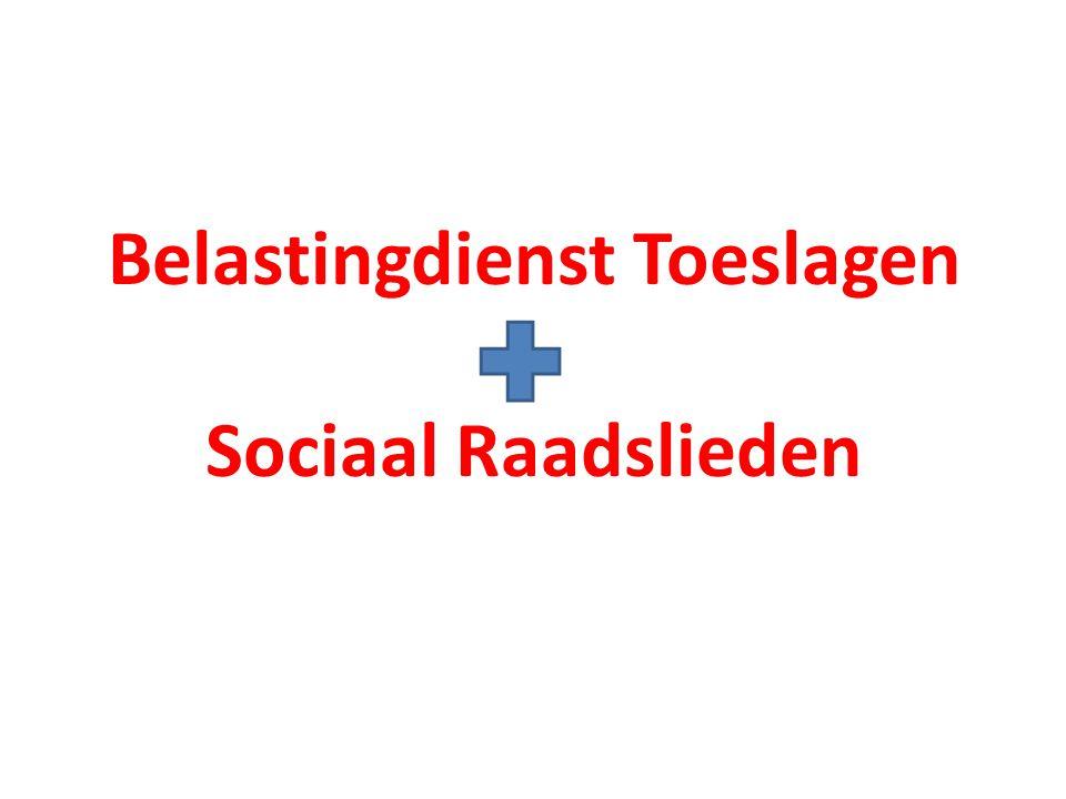 Belastingdienst Toeslagen Sociaal Raadslieden