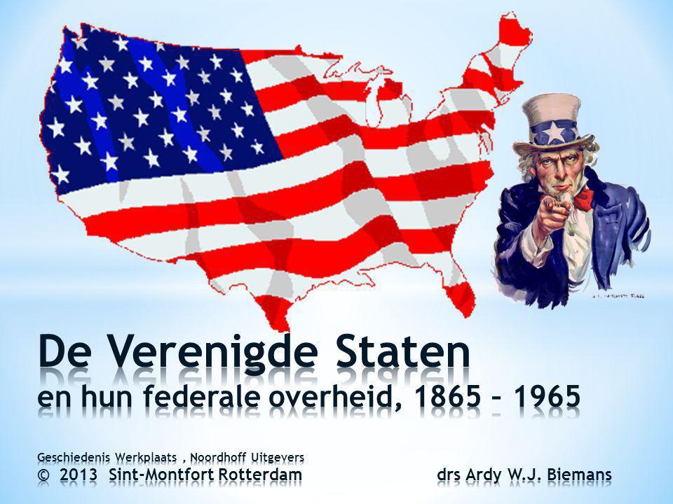 22 4.1 Welvaart en wantrouwen Na WO II schakelde de Amerikaanse economie soepel over op de productie van duurzame consumptiegoederen: de gevreesde moeizame overgang van oorlogs- naar vredeseconomie bleef uit.