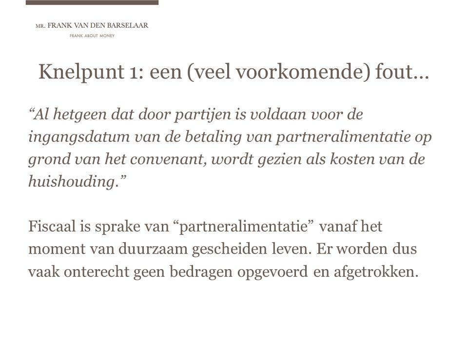 Draagkracht uit kasgeldvennootschap Het rendement kan als dividend of als salaris in de draagkrachtberekening worden betrokken: Het verschil wordt veroorzaakt door het verschil in (aangenomen) belastingheffing over het rendement.