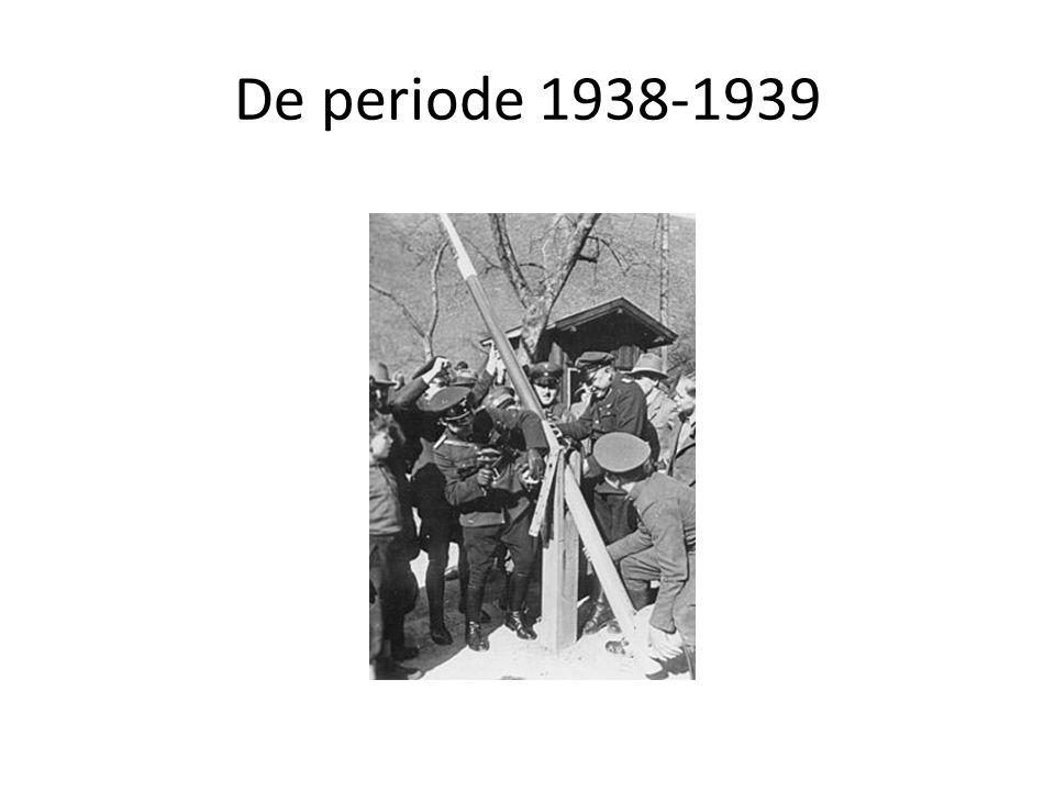 De periode 1938-1939
