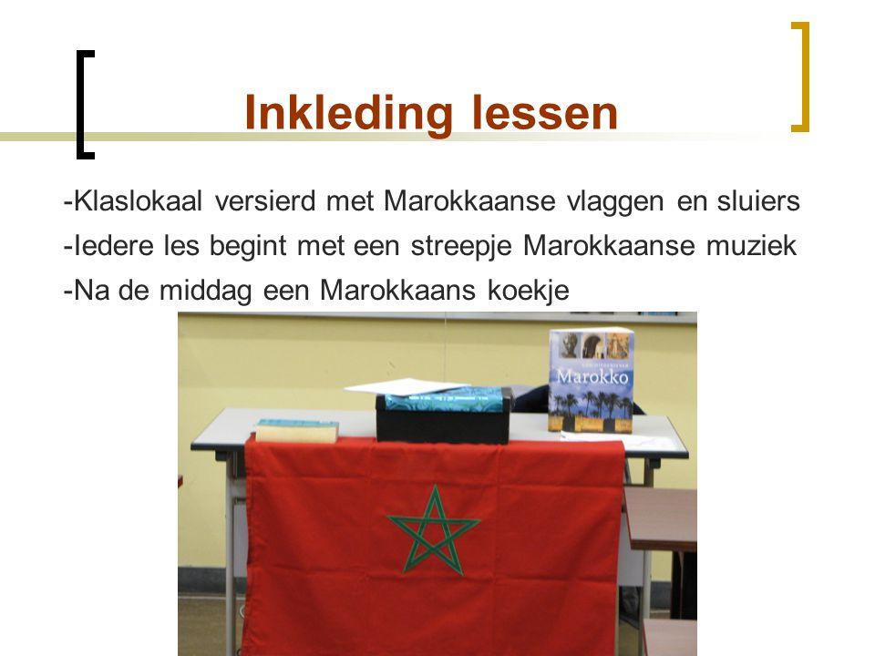 3 ASO: Inhoud van de lessen  Les 1: De verovering van Noord-Afrika door de Arabieren  Klassieke les  Les 2: De Berberdynastieën (700-1440)  Groepswerk + presentatie