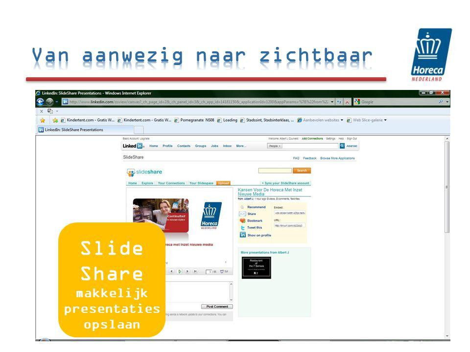 31 Slide Share makkelijk presentaties opslaan