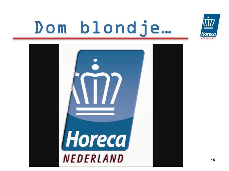 79 Dom blondje…