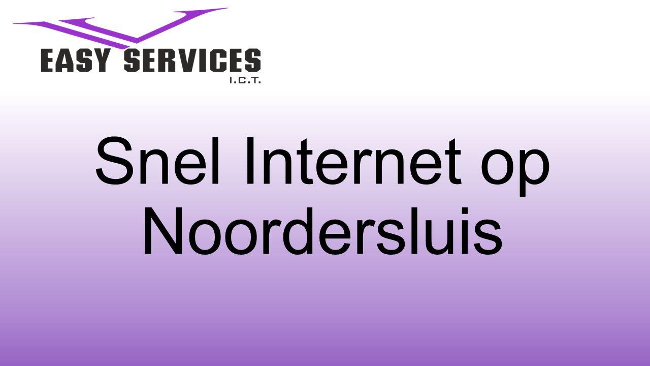 Snel Internet op Noordersluis
