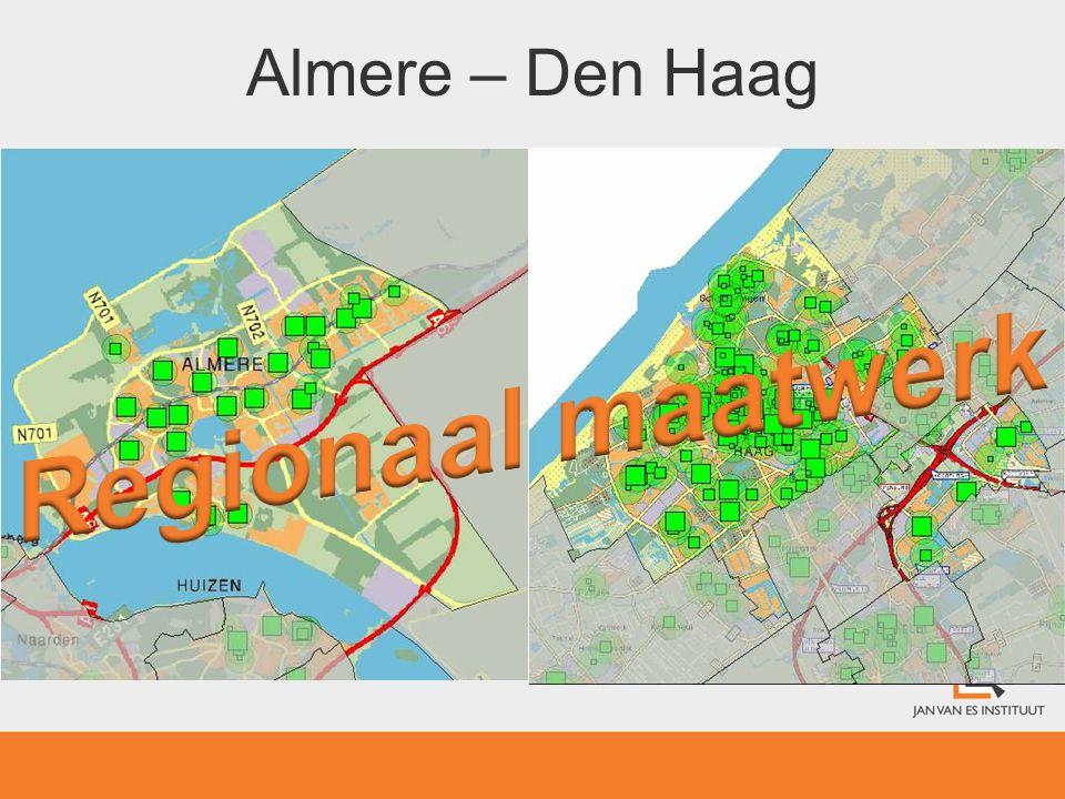 Almere – Den Haag klik op plaatje vor interactieve kaart 4.2 Zorgaanbod: Huisartsen Pagina 18 Almere