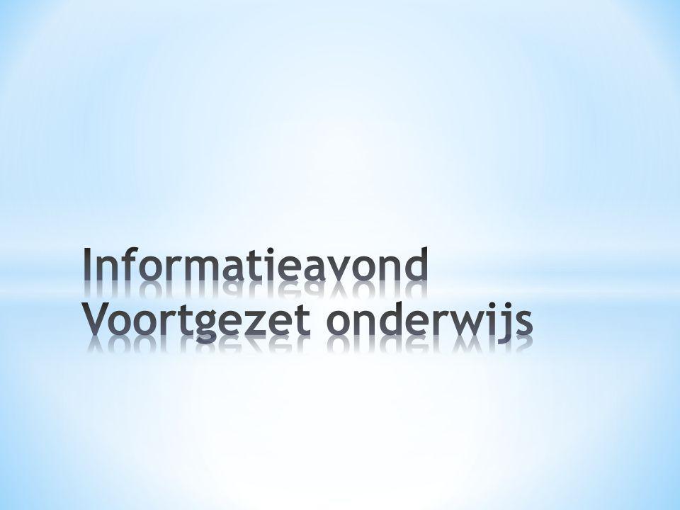 • 4 jaar • Vroeger IVBO/VBO • 4 algemene + 2 beroepsgerichte vakken • Niveau groep 7 • Korte concentratie • Praktisch ingesteld • Naar MBO niveau 1-2 (zgn.