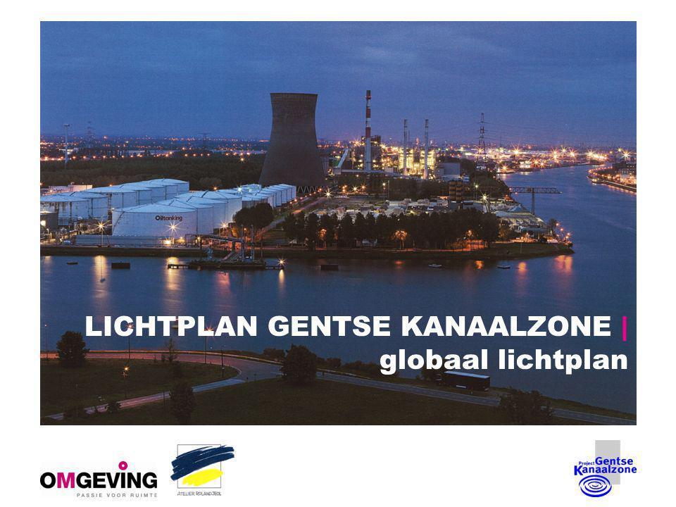 LICHTPLAN GENTSE KANAALZONE | globaal lichtplan