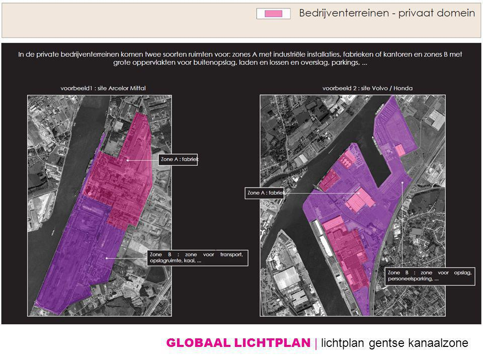 GLOBAAL LICHTPLAN | lichtplan gentse kanaalzone