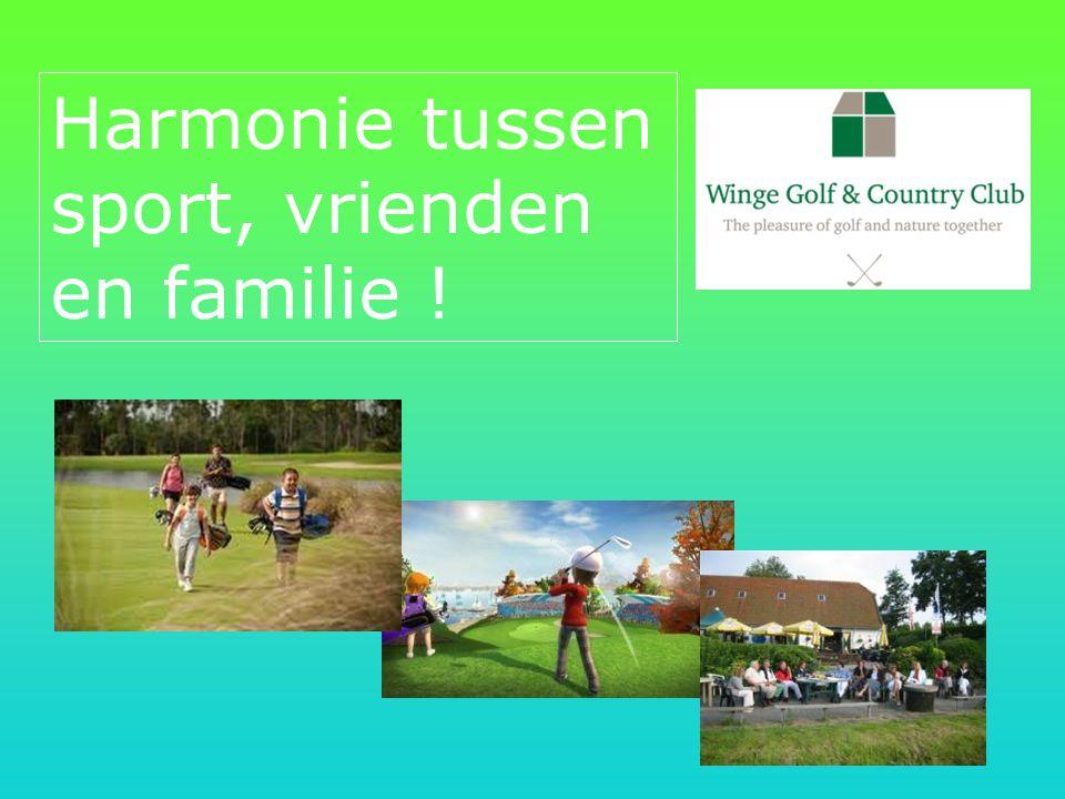 Harmonie tussen sport, vrienden en familie !