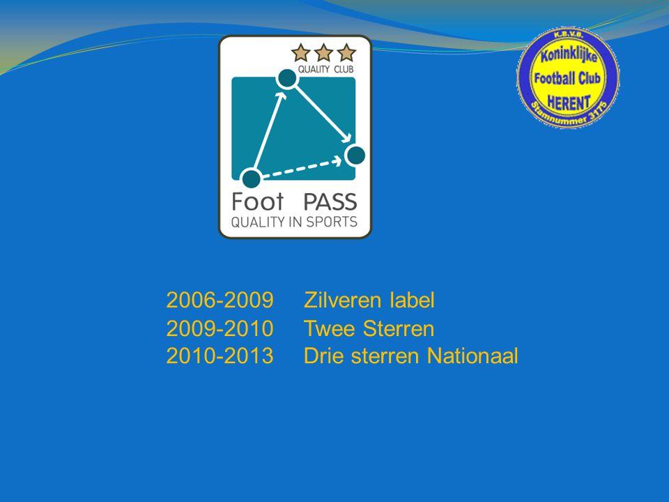 2006-2009 Zilveren label 2009-2010 Twee Sterren 2010-2013 Drie sterren Nationaal