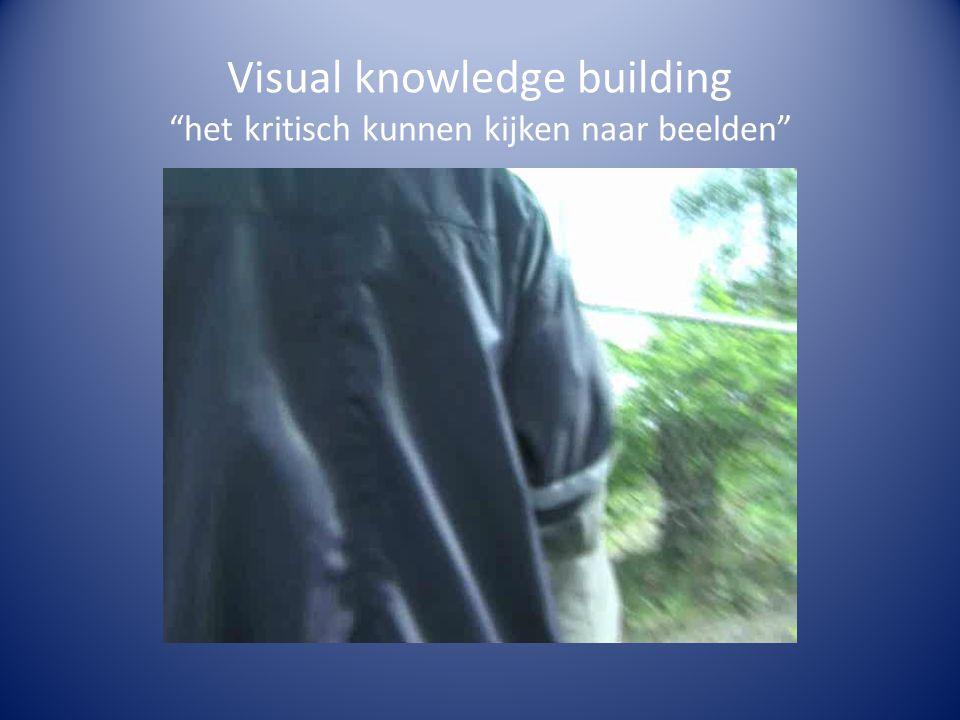 """Visual knowledge building """"het kritisch kunnen kijken naar beelden"""""""