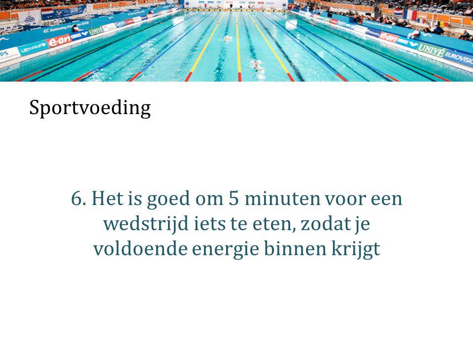 Sportvoeding 6.