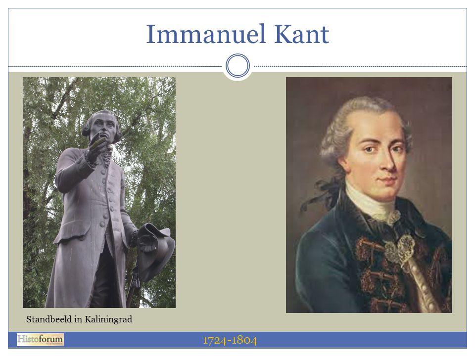 Immanuel Kant 1724-1804 Standbeeld in Kaliningrad