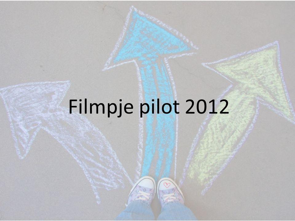 Filmpje pilot 2012