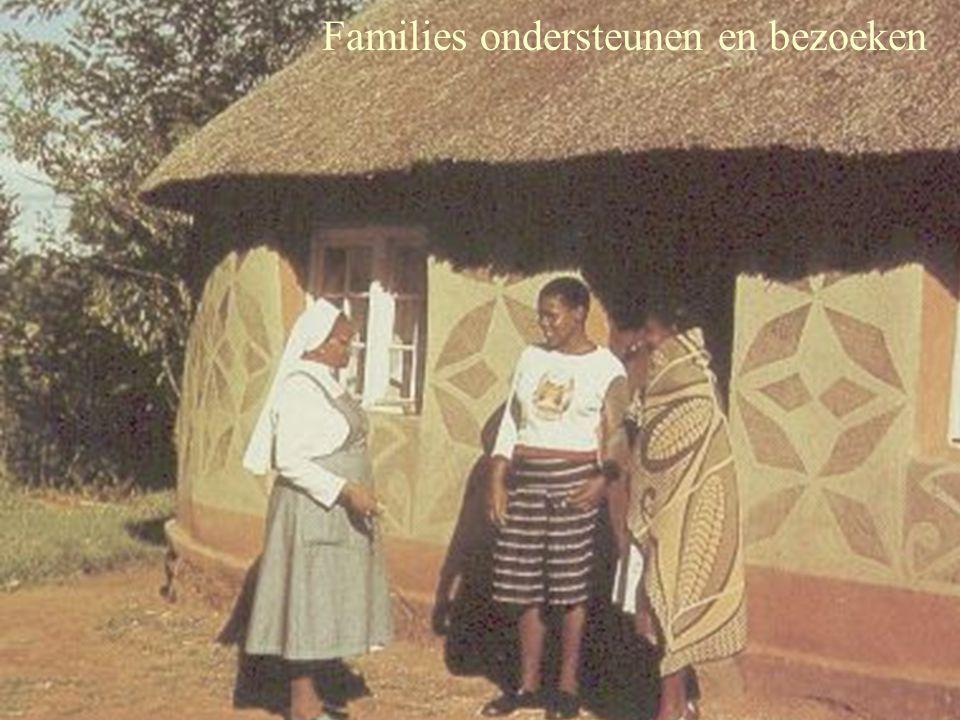 Families ondersteunen en bezoeken