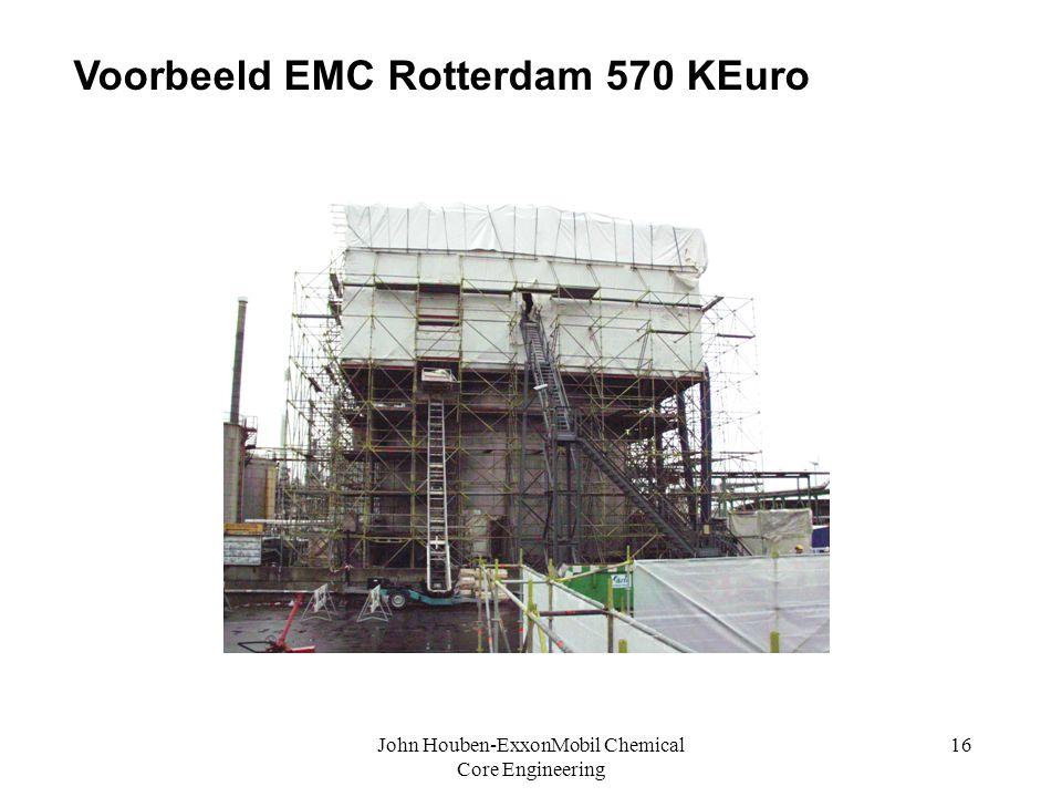John Houben-ExxonMobil Chemical Core Engineering 16 c Voorbeeld EMC Rotterdam 570 KEuro