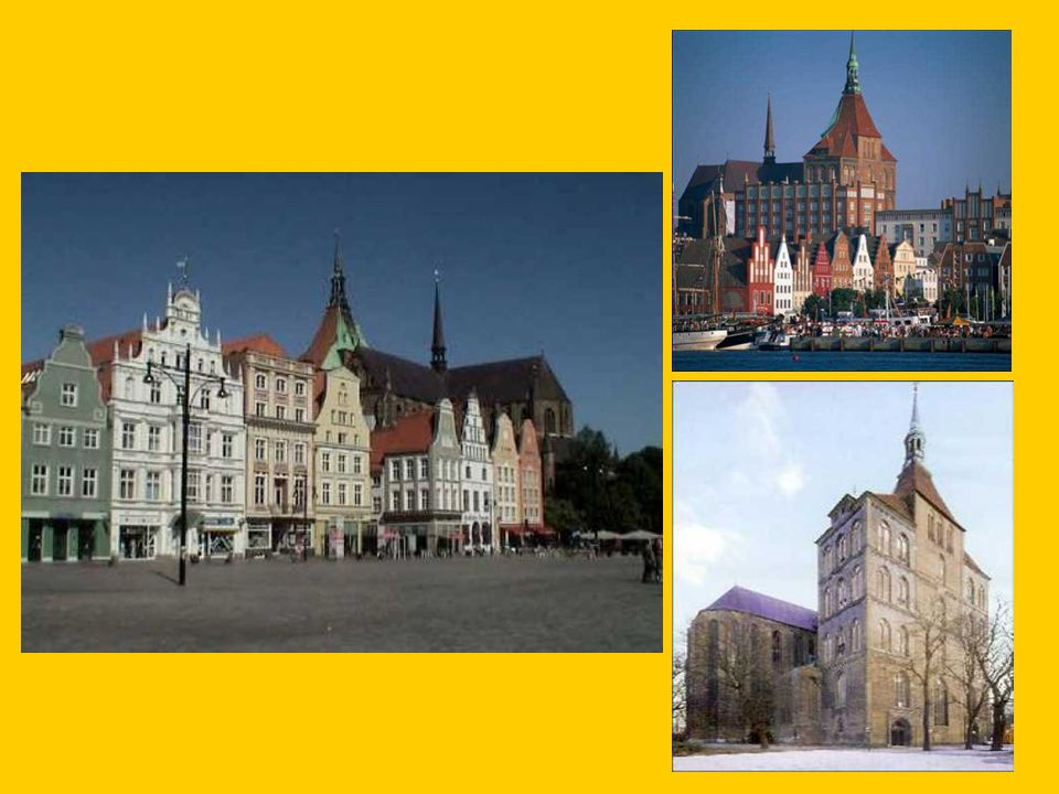 Dag 3:Woensdag 7 september 2011 Vanaf 7u30 Ontbijtbuffet Voormiddag 's Ochtends staat een rondleiding door de grootste stad van Mecklenburg-Vorpommern op het programma, Rostock.